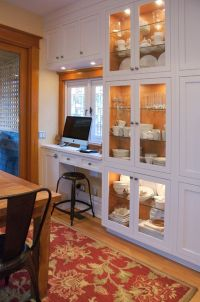 Awesome Built In Cabinet and Desk for Home Office Inspirations 61