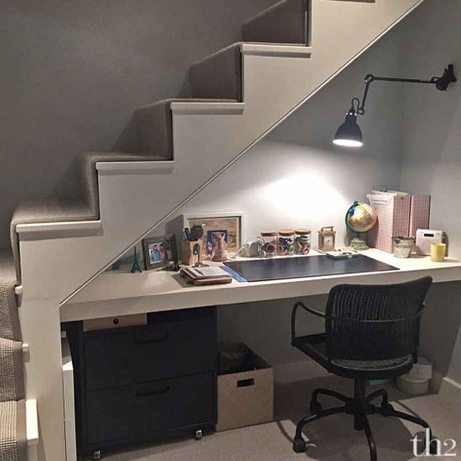Awesome Cool Ideas To Make Room Under Stairs 1