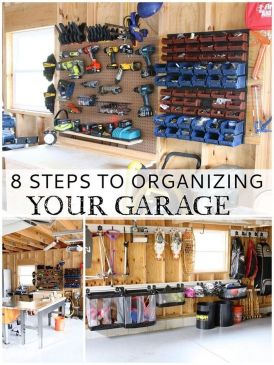 Best Garage Organization and Storage Hacks Ideas 18