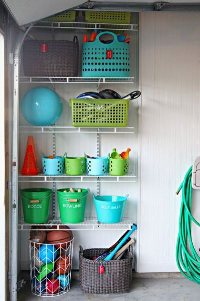 Best Garage Organization and Storage Hacks Ideas 50