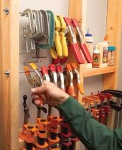 Best Garage Organization and Storage Hacks Ideas 54