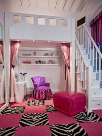 Cool Loft Bed Design Ideas for Small Room 14
