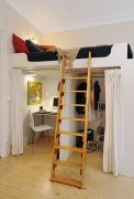 Cool Loft Bed Design Ideas for Small Room 20