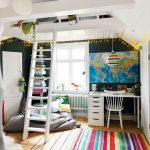 Cool Loft Bed Design Ideas for Small Room 22