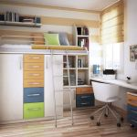 Cool Loft Bed Design Ideas for Small Room 36