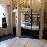 Cool Loft Bed Design Ideas for Small Room 39