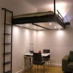 Cool Loft Bed Design Ideas for Small Room 62