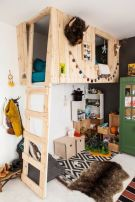 Cool Loft Bed Design Ideas for Small Room 63