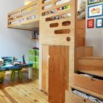 Cool Loft Bed Design Ideas for Small Room 69