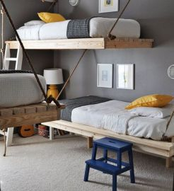Cool Loft Bed Design Ideas for Small Room 70