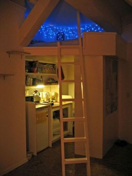 Cool Loft Bed Design Ideas for Small Room 71
