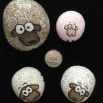 Creative DIY Easter Painted Rock Ideas 2