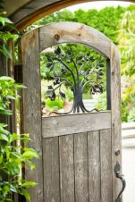 Fascinating Garden Gates and Fence Design Ideas 15