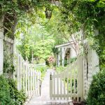 Fascinating Garden Gates and Fence Design Ideas from atlantahomesmag.com