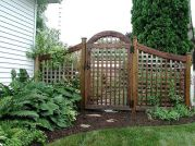 Fascinating Garden Gates and Fence Design Ideas 26