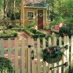 Fascinating Garden Gates and Fence Design Ideas 31