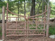 Fascinating Garden Gates and Fence Design Ideas 38