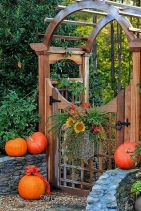 Fascinating Garden Gates and Fence Design Ideas 44