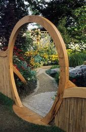 Fascinating Garden Gates and Fence Design Ideas 64