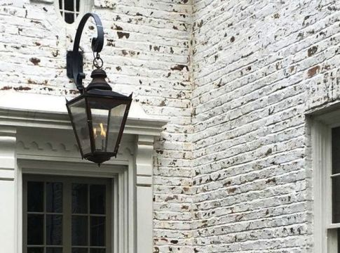 Hanging Gas Lanterns for Front Door Decorations