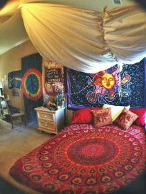 Minimalist Hippie Interior Decorations Ideas 19