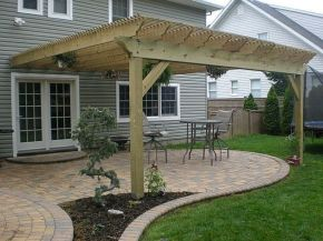 Perfect Pergola Designs for Home Patio 11