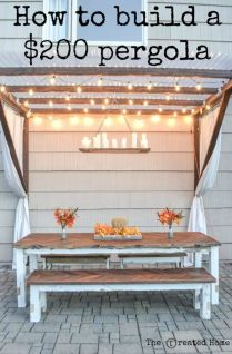 Perfect Pergola Designs for Home Patio 45