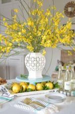 Spring Home Table Decorations Center Pieces 36