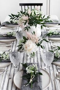 Spring Home Table Decorations Center Pieces 82