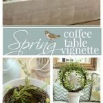 Spring Home Table Decorations Center Pieces 91