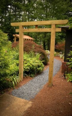 Stunning Creative DIY Garden Archway Design Ideas 10