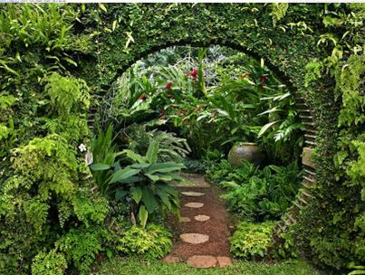Stunning Creative DIY Garden Archway Design Ideas 14