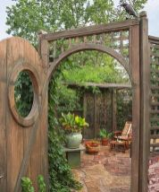 Stunning Creative DIY Garden Archway Design Ideas 2
