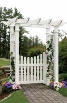Stunning Creative DIY Garden Archway Design Ideas 52