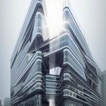 Stunning Glass Facade Building and Architecture Concept 46