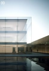 Stunning Glass Facade Building and Architecture Concept 49