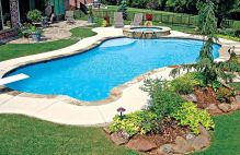 Stunning Outdoor Pool Landscaping Designs 22