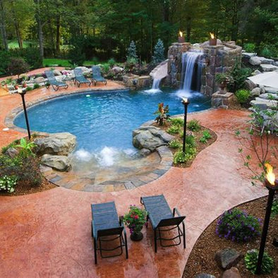Stunning Outdoor Pool Landscaping Designs 1