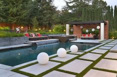 Stunning Outdoor Pool Landscaping Designs 6