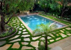 Stunning Outdoor Pool Landscaping Designs 62