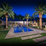 Stunning Outdoor Pool Landscaping Designs 75