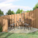 Stunning Privacy Fence Line Landscaping Ideas 46