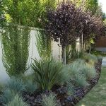 Stunning Privacy Fence Line Landscaping Ideas 72