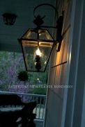 Vintage Hanging Gas Lanterns for Front Door Decorations by Melanie Robinson
