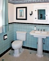Vintage and Classic Bathroom Tile Design 25