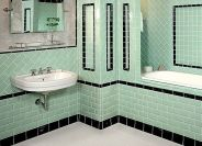 Vintage and Classic Bathroom Tile Design 36