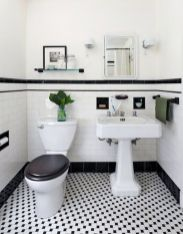 Vintage and Classic Bathroom Tile Design 42