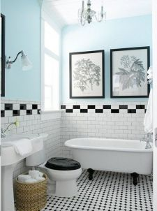 Vintage and Classic Bathroom Tile Design 5