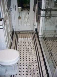 Vintage and Classic Bathroom Tile Design 55