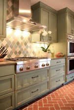 Amazing Brick Floor Kitchen Design Inspirations 9